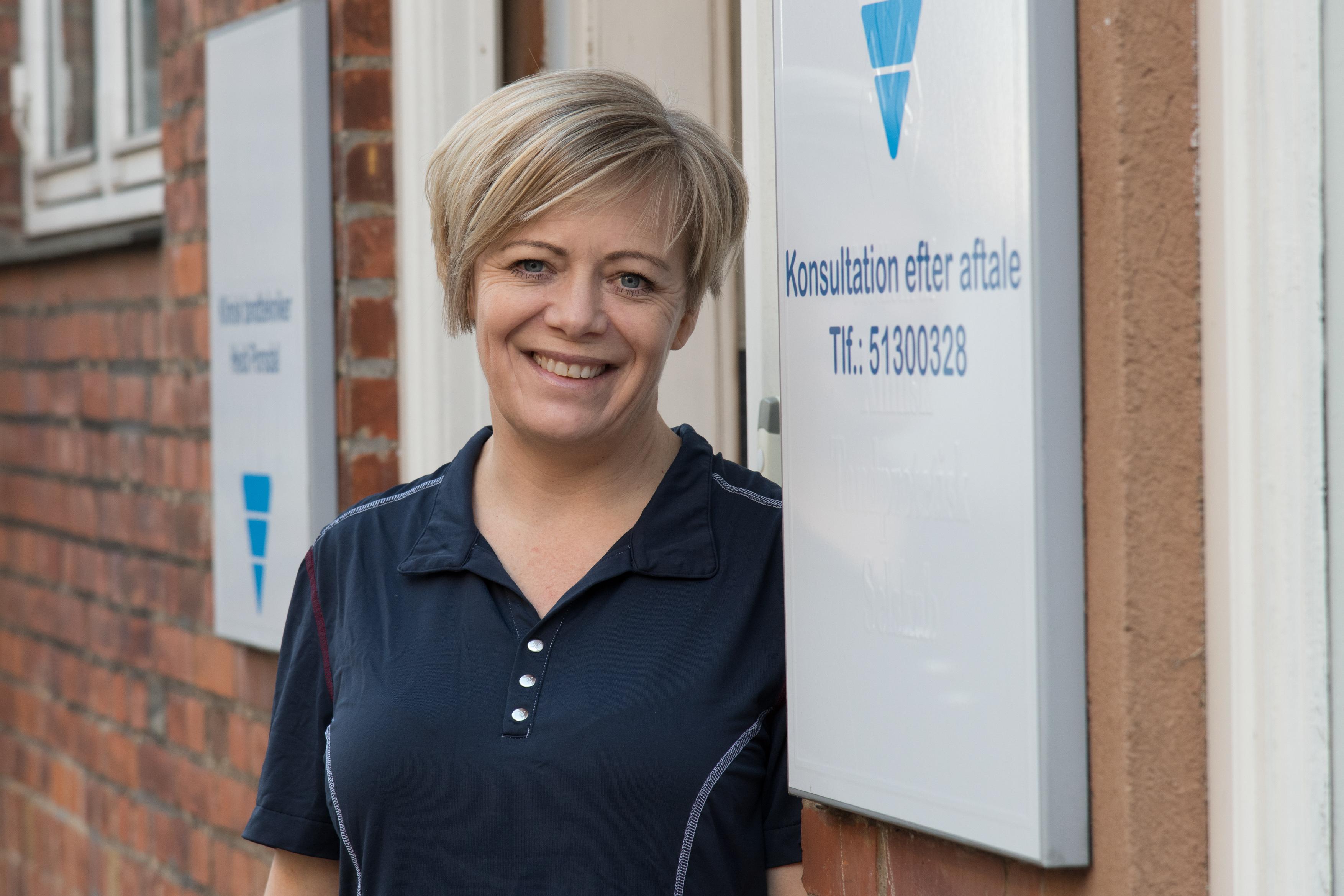 Tandteknikeren Heidi Porsdal